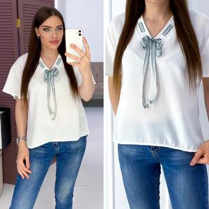 Блуза белая А03280