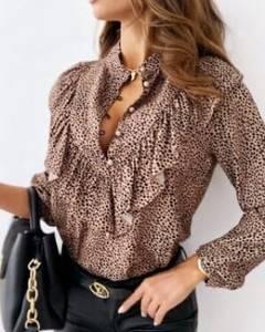 Блуза с длинным рукавом А30862