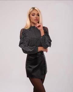 Блуза с длинным рукавом А34046