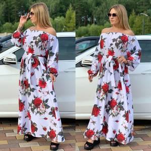 Платье длинное нарядное Ч5258