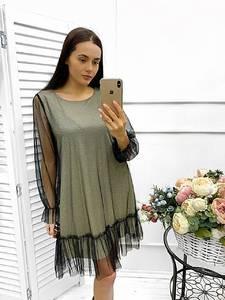 Платье короткое нарядное Ш9017