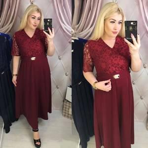 Платье длинное нарядное Ю4339