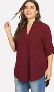 Блуза офисная Ю9671