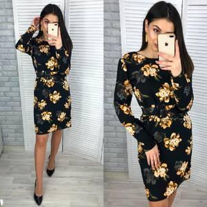 Платье короткое нарядное Я2228