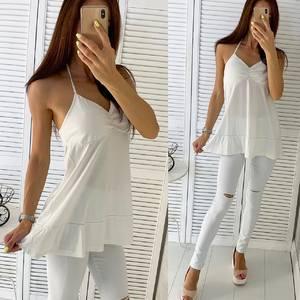 Блуза белая Ч5403