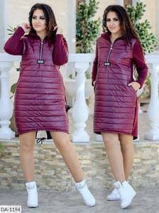 Платье короткое зимнее Ю2671