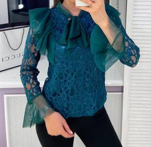 Блуза для офиса Ю3158