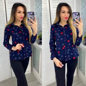 Рубашка с принтом Я3948