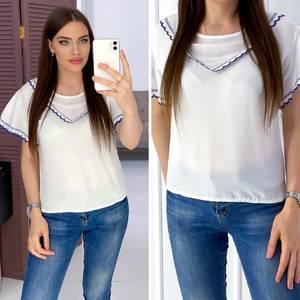 Блуза белая А03282