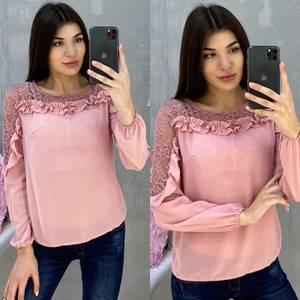 Блуза с длинным рукавом А07663
