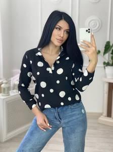 Блуза с длинным рукавом А29424