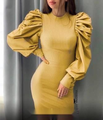 Платье короткое современное Ш9907
