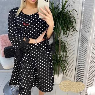 Платье короткое нарядное Я1543