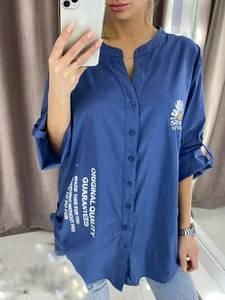 Рубашка с принтом А34388