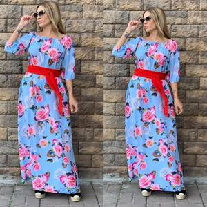 Платье длинное нарядное Ч4353