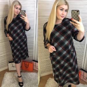 Платье короткое повседневное Ш5558