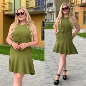 Платье короткое летнее Ш9796