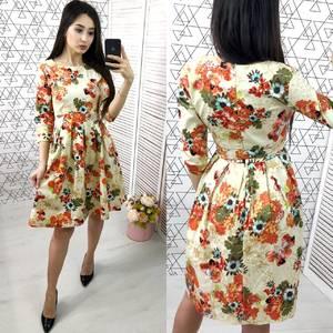 Платье короткое нарядное Ю4342