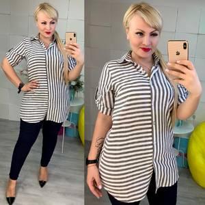 Рубашка с коротким рукавом Ч1626