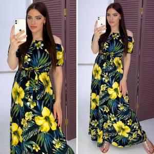 Платье длинное летнее Я9338
