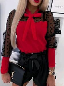 Блуза с длинным рукавом А02237