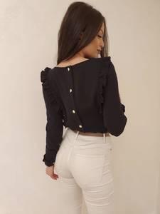 Блуза с длинным рукавом А30614