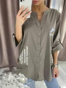 Рубашка с принтом А34389