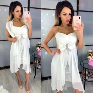 Платье короткое нарядное Ч4088