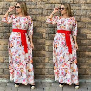 Платье длинное нарядное Ч4354