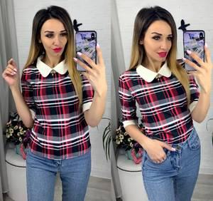 Блуза с коротким рукавом Я0630