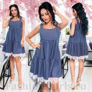 Платье короткое летнее Я1822
