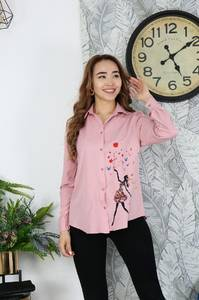 Рубашка с длинным рукавом Я2102
