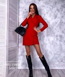 Платье короткое с длинным рукавом Я2606