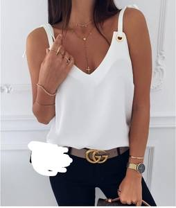 Блуза без рукавов Я3318