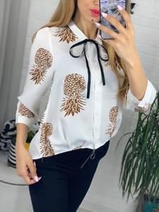 Рубашка с принтом Я3934
