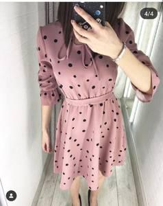 Платье короткое нарядное Я4234