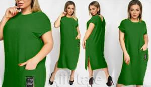 Платье длинное летнее Я6937