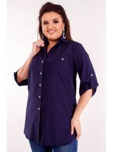 Рубашка удлиненная Я7186