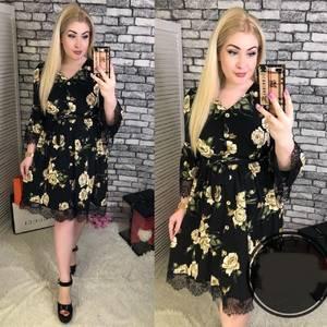 Платье короткое нарядное Я9213