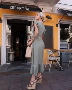 Платье длинное летнее А01529