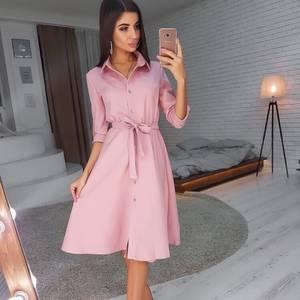Платье короткое однотонное А02849