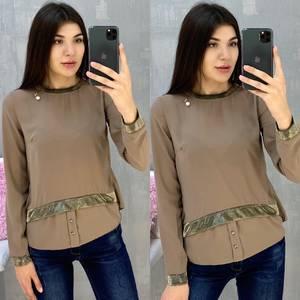 Блуза с длинным рукавом А07648