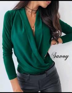 Блуза с длинным рукавом А29409