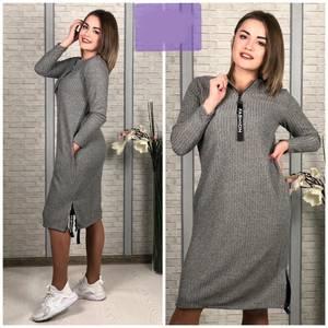 Платье короткое повседневное Ш6381