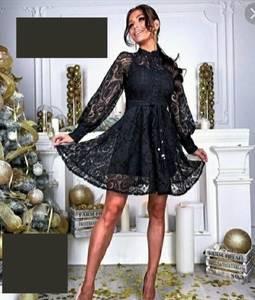 Платье короткое нарядное А31574