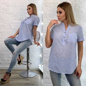 Блуза с коротким рукавом А33516