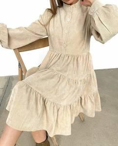 Платье короткое с длинным рукавом А33787