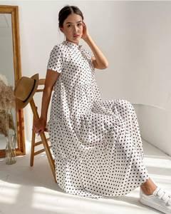 Платье длинное летнее А37623