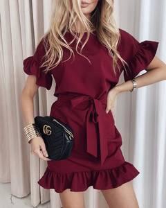 Платье короткое нарядное А39185