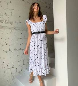 Платье длинное летнее А46722